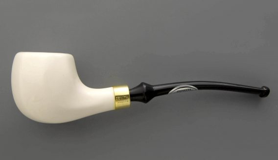 Zenith pipe - Bombay facet - white