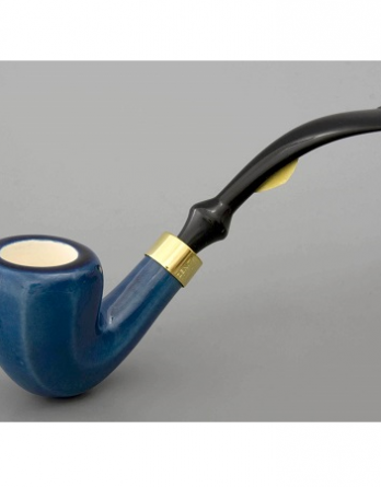 Zenith pipe - Karachi facet - blue