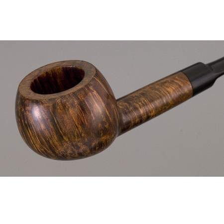 Hardcastle pipe - tomato shape - saddle stem