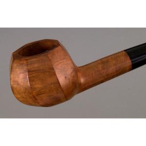 Amiel pipe - octagonal shape - briar