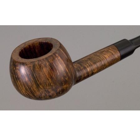 Hardcastle pipe - tomato shape - saddle stem