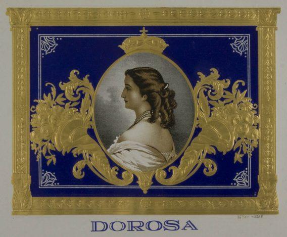 Dorosa cigar label