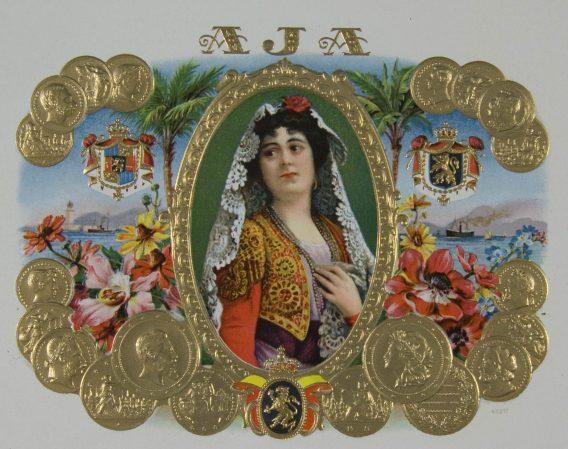 aja cigar label