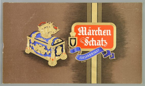 märchenschatz cigar label