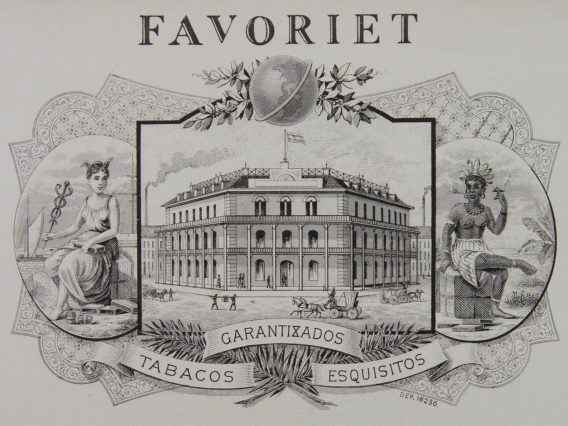 favoriet cigar label