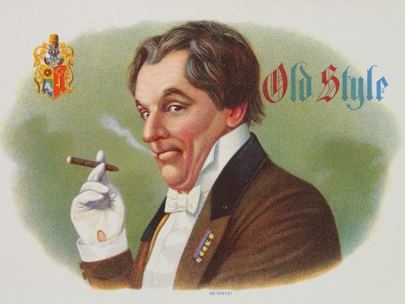 Old Style cigar label