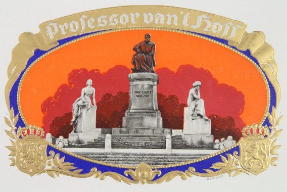 Professor van t hoff cigar label