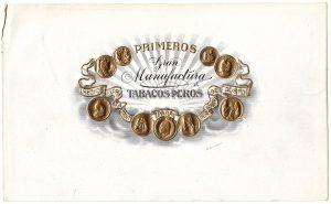 Primeros cigar label