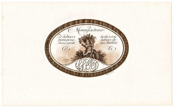 Selectos cigar label