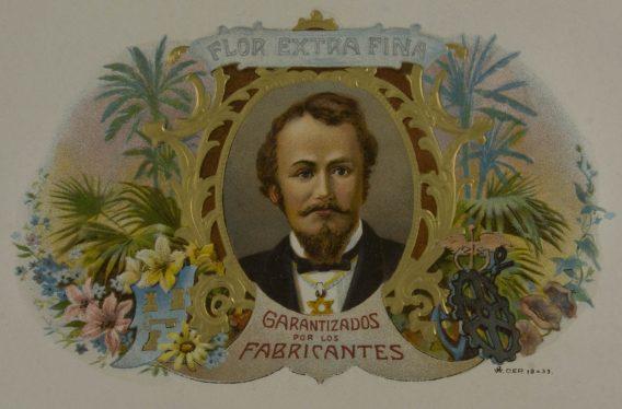 Flor Extra Fina cigar label