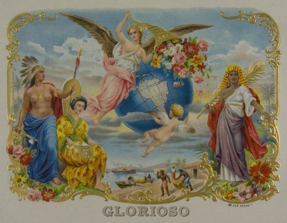 Glorioso cigar label